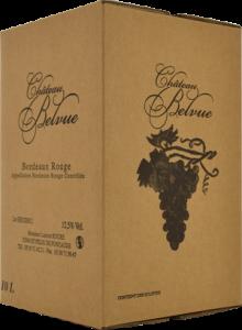 Château Belvue - BIB Rouge 10 Litres