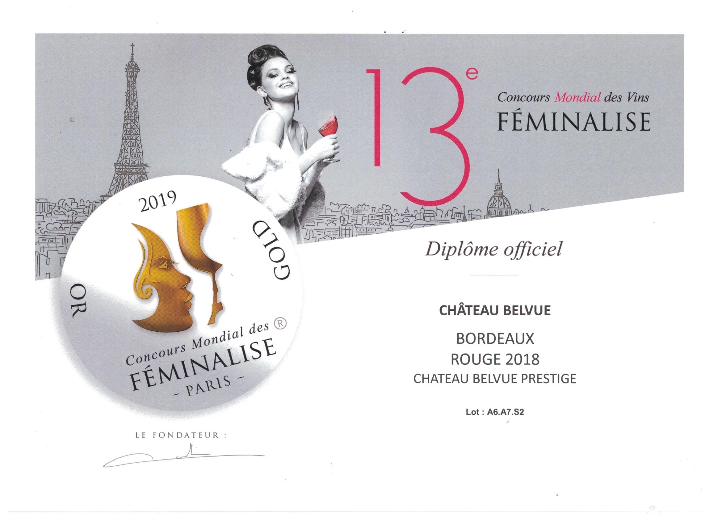 Diplome OR Féminalise 2019 001